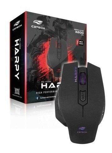 mouse usb gamer c3 tech harpy com led