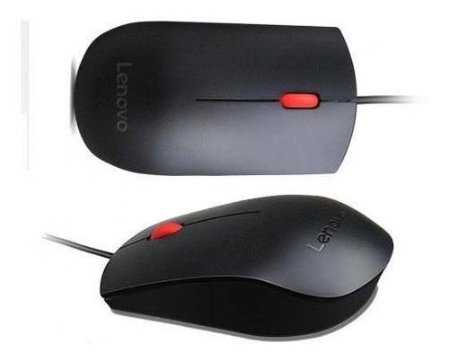 mouse usb lenovo essential + nota fiscal + original + novo