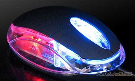 mouse usb optico 1200 dpi laptop pc notebook luz economico