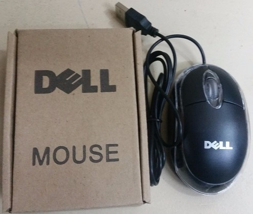 mouse usb optico alambrico dell laptop, pc, somos tienda!!