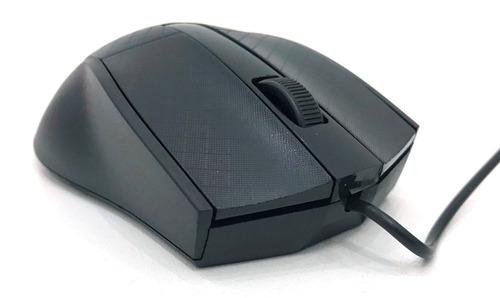 mouse usb robotico óptico 1000dpi preto p/ notebok e pc
