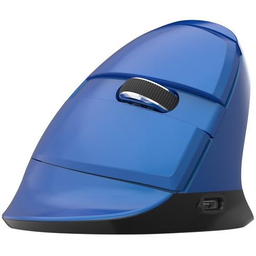 mouse vertical delux m618mini bluetooth 4,0 + 2,4 ghz inalám