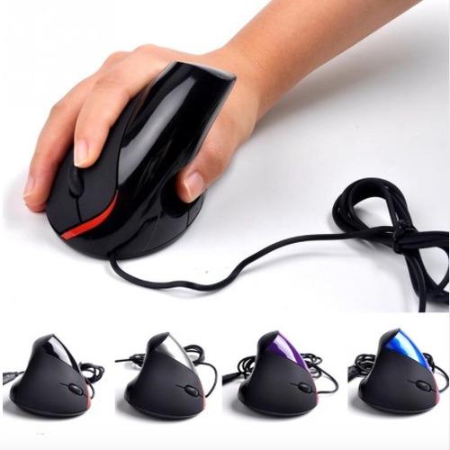 mouse vertical ergonomico tunel carpiano con caja 5d oficina