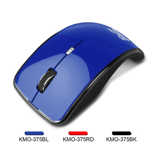 mouse wireless klip xtreme kmo-375bl