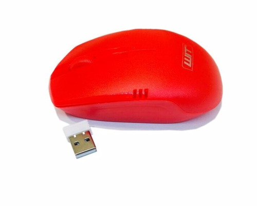 mouse wireless wit mi-1200 rojo