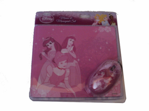 mouse y mouse pad para niña hello kitty, mimi, monters high
