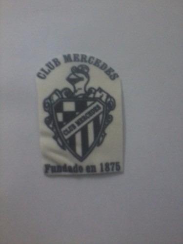 mousepad escudo de club mercedes 20 cm