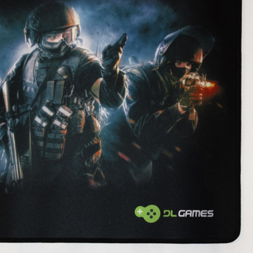 mousepad gamer dl games quickshot md250pre speed 450x400x4mm