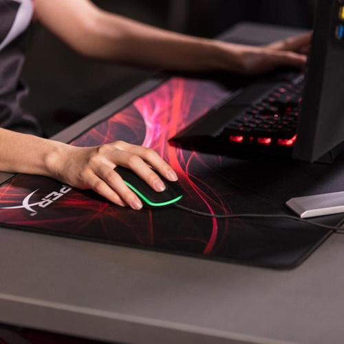 mousepad gamer hyperx fury pro mouse pad medium m borde tejido oficial