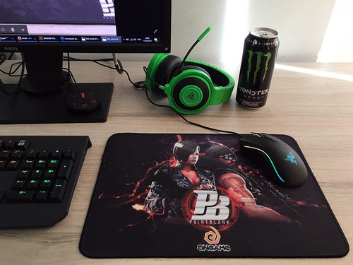 mousepad gamer point blank hide-b control 25x35cm goliathus