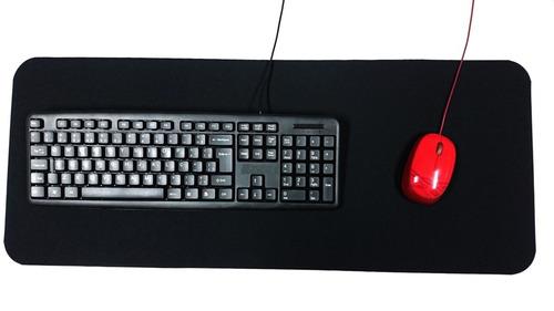 mousepad gamer - tapete liso c/ base emb. - polispuma
