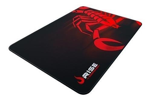mousepad grande scorpion red - rise