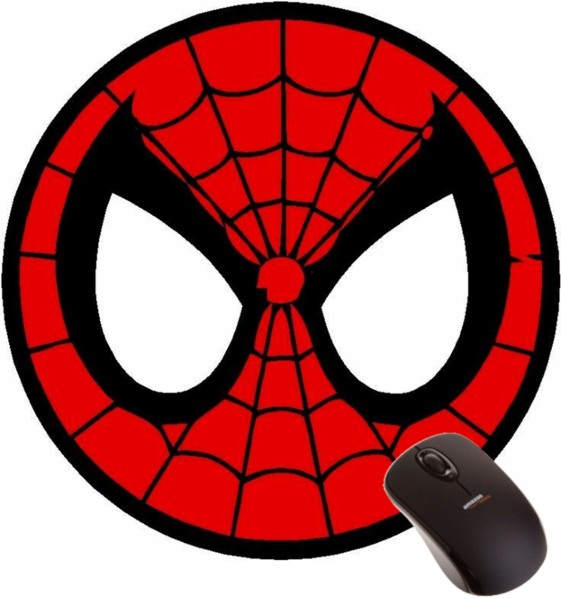 Mousepad Homem Aranha Mascara Super Heroi Marvel Desenho R 22