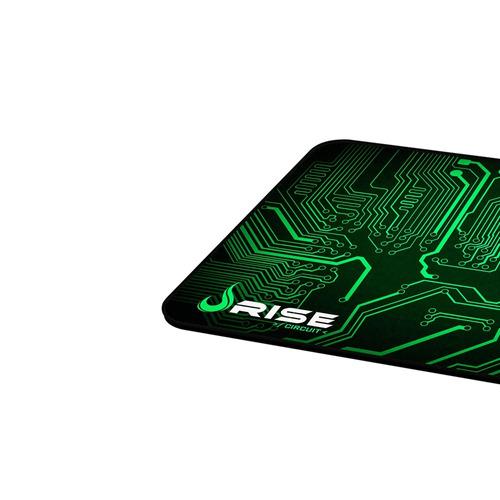 mousepad médio circuit - rise