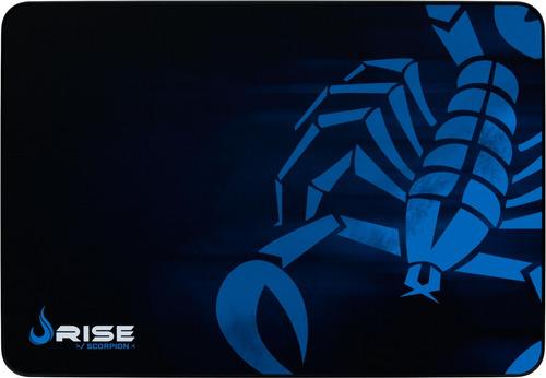 mousepad rise mode gamer scorpion - g  costurado rg-mp-05-sk