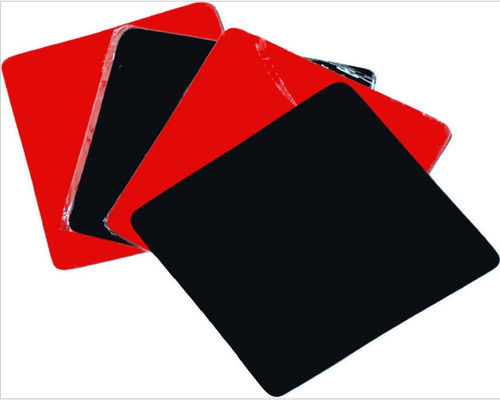 mousepad universal colores pad flexible 19x20 factura a / b