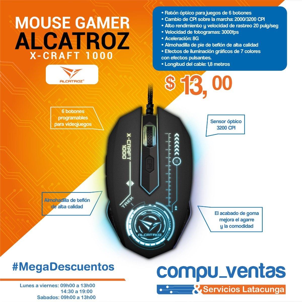Alcatroz X Craft Trek 1000 Mouse Gaming - Page 3 - Daftar