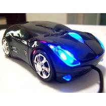 Mouse Optico 3d En Forma De Carro
