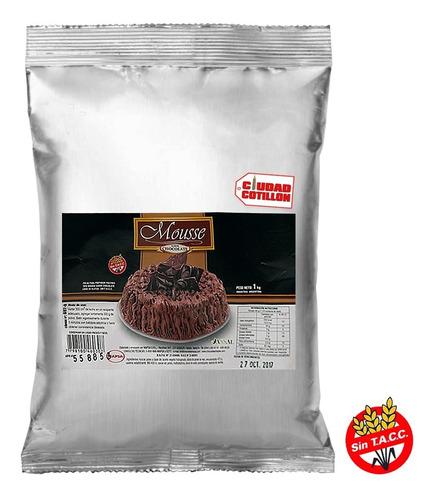 mousse chocolate mapsa 1 kg ciudad cotillón