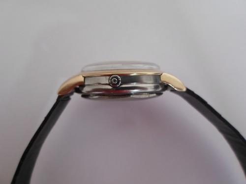 movado bumper acero /oro de caballero