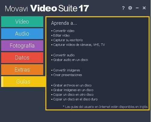 movavi video suite 2017 potente editor de videos y más