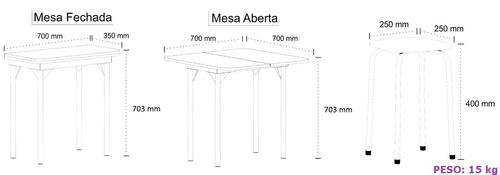 móveis cozinha mesa
