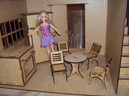 moveis em mdf barbie para casa de boneca barbie princesas cr