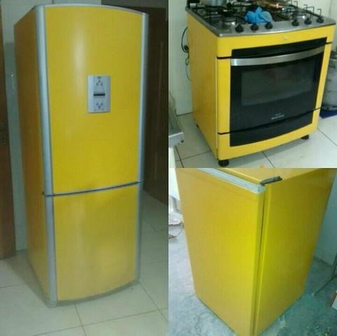 moveis envelopamento geladeira