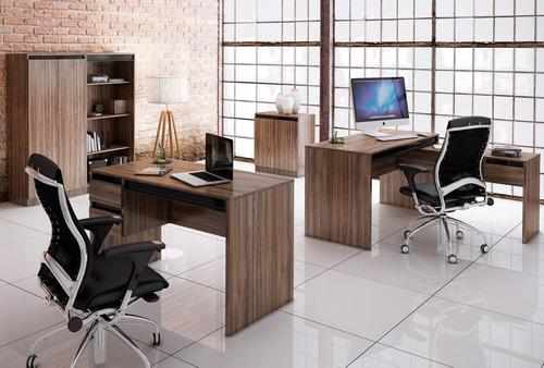 móveis para escritório: armários, mesas, estantes e balcão