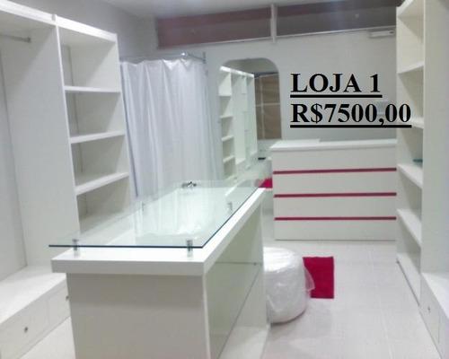 móveis para loja de roupas, calçados e outros...