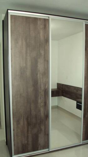móveis planejados em mdf - promoção para apto de até 52m²