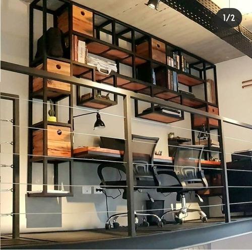 móveis rusticos estilo industrial sob medida