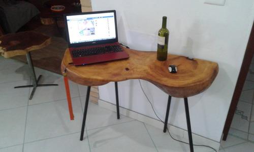 móveis rústicos, madeira, ferro e vidro design