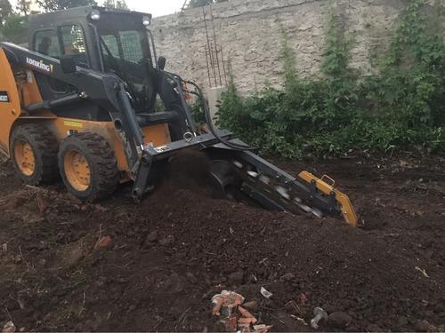 moviendo de suelo tierra negra toscas alquilare de maquina