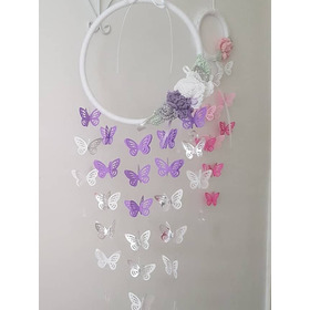 Movil, Atrapasueños, Souvenirs Sabbychic Mariposas