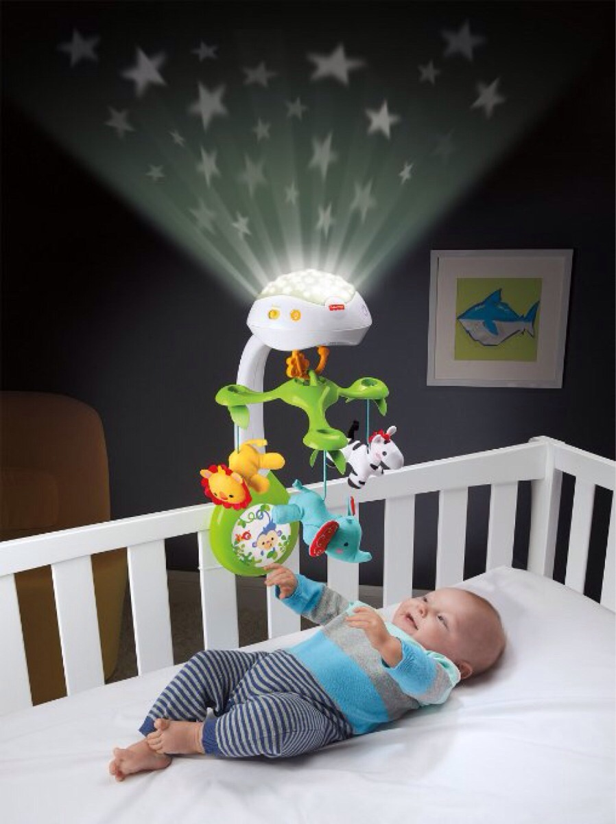 Movil cuna bebe proyector 3 en 1 rainforest nueva linea en mercado libre - Movil para cuna bebe ...