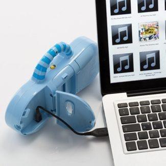 móvil cunero con reproductor de mp3 taf toy 2 funciones