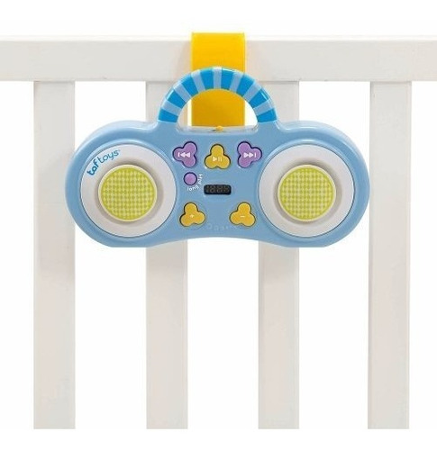 móvil cunero musical proyector taf toys mp3 stereo owl mob