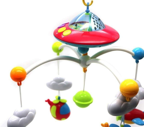 movil cunero proyector musical sonidos bebe babymovil cici