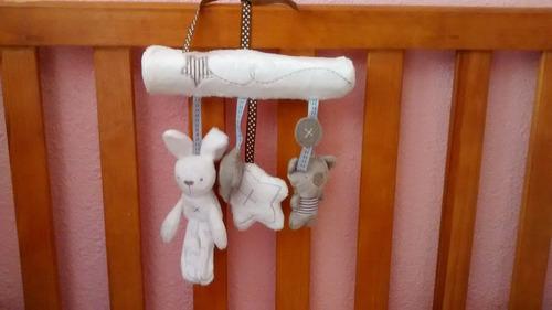 móvil juguete para bebé sonajero (cuna o carreola)