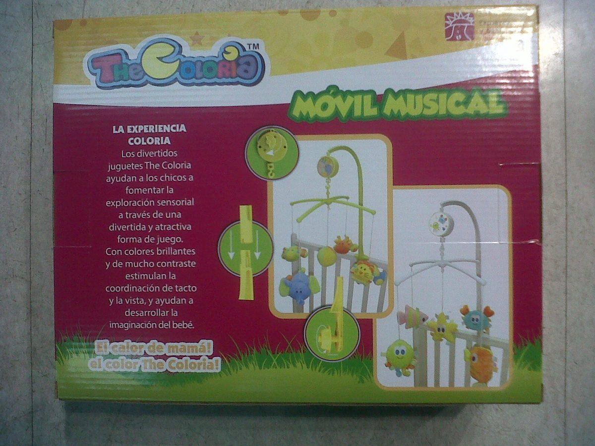 movil musical a cuerda bebe coloria mar int b11111 899 00 en