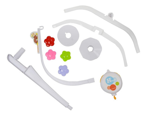 movil musical cuna bebe baby shower diseño peces