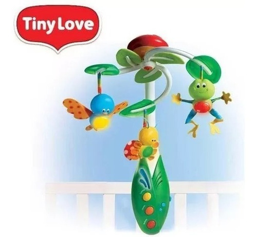 movil musical de cuna -  tiny love my nature pals