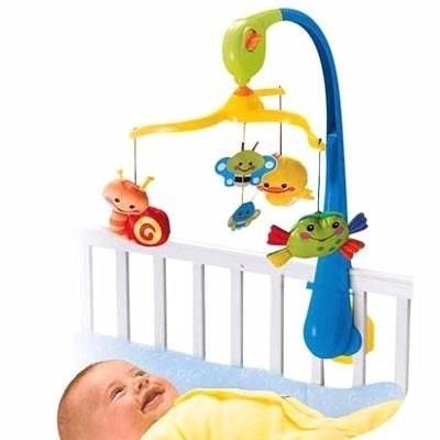 móvil musical primeros amigos del bebé