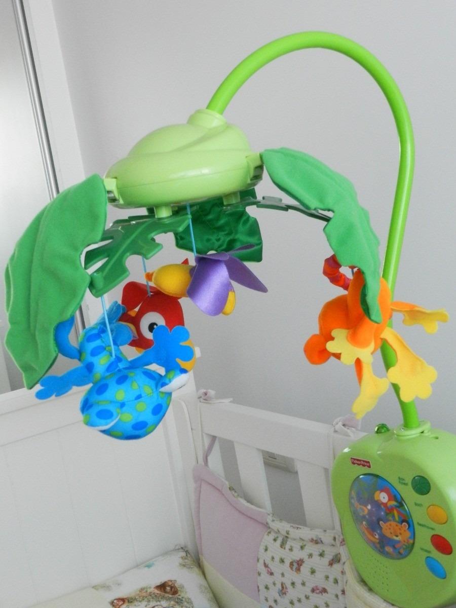 Movil musical rainforest fisher price para la cuna dl bebe en mercado libre - Fisher price cuna ...