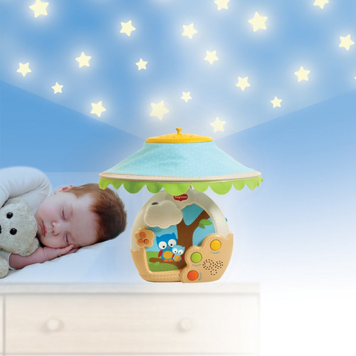 móvil musical y proyector para bebé tiny love magical night
