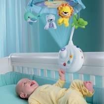 movil para bebes 2 en 1 proyector smart baby colgantes 648a