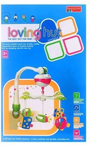 movil para cuna o huevito loving hut y sonidos 2 en 1