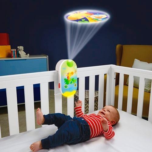 móvil proyector 2en1 smart c amigos naturaleza fisher price