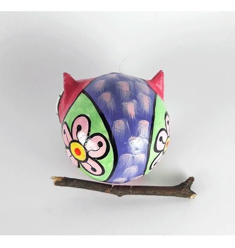 moviles de cartapesta - lechuza - pajaro - abeja